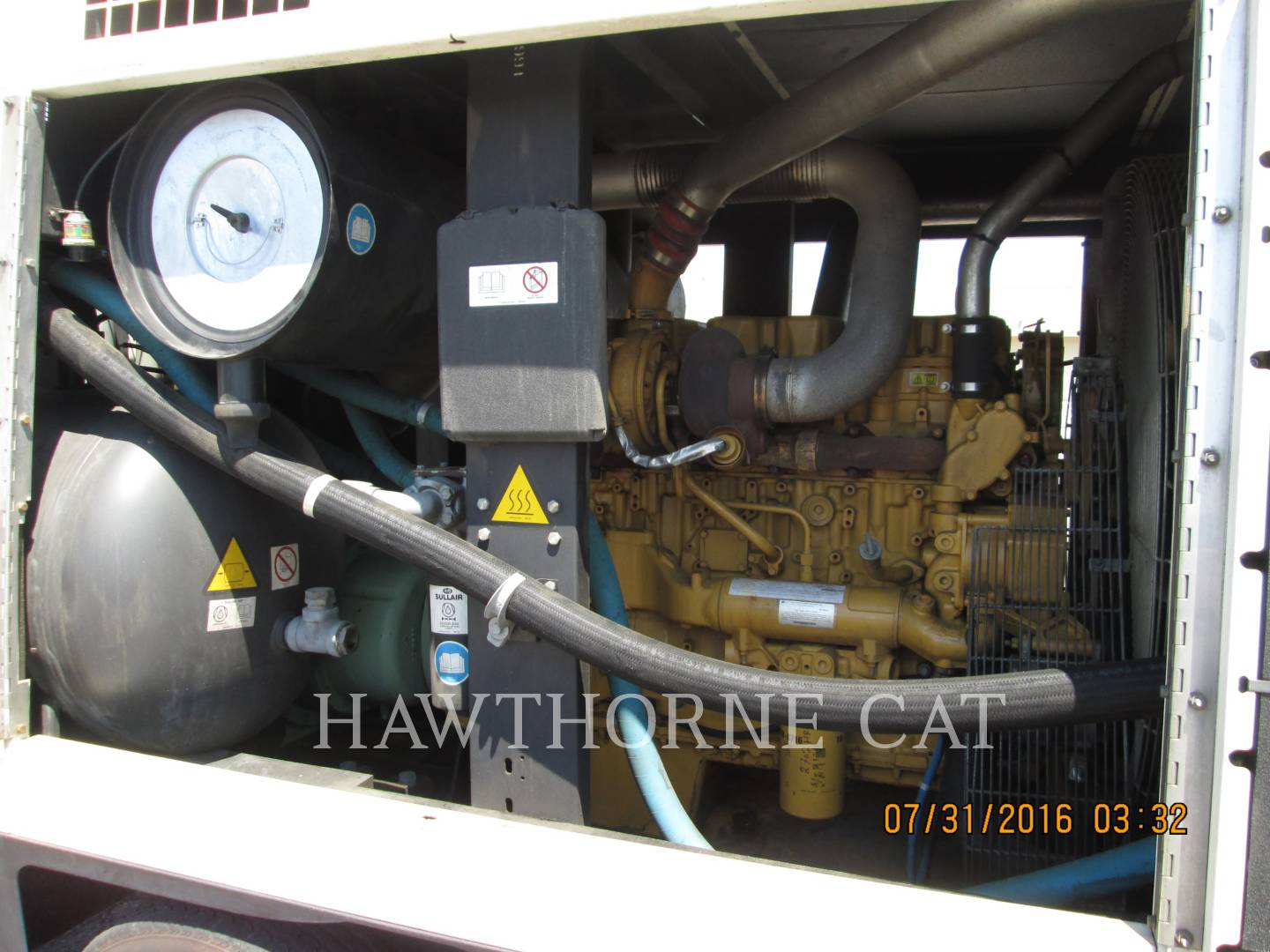 Detail photo of 2011 Sullair 1600HAF DTQ-CA3 from Construction Equipment Guide