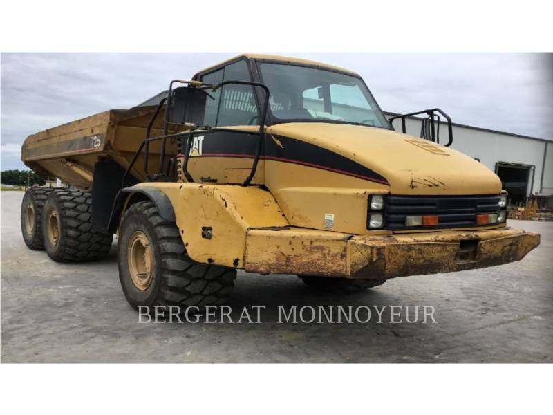 CATERPILLAR DUMPER ARTICOLATI 725 equipment  photo 4