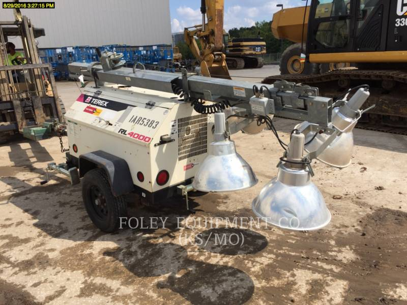 TEREX CORPORATION LIGHT TOWER RL4000 equipment  photo 3
