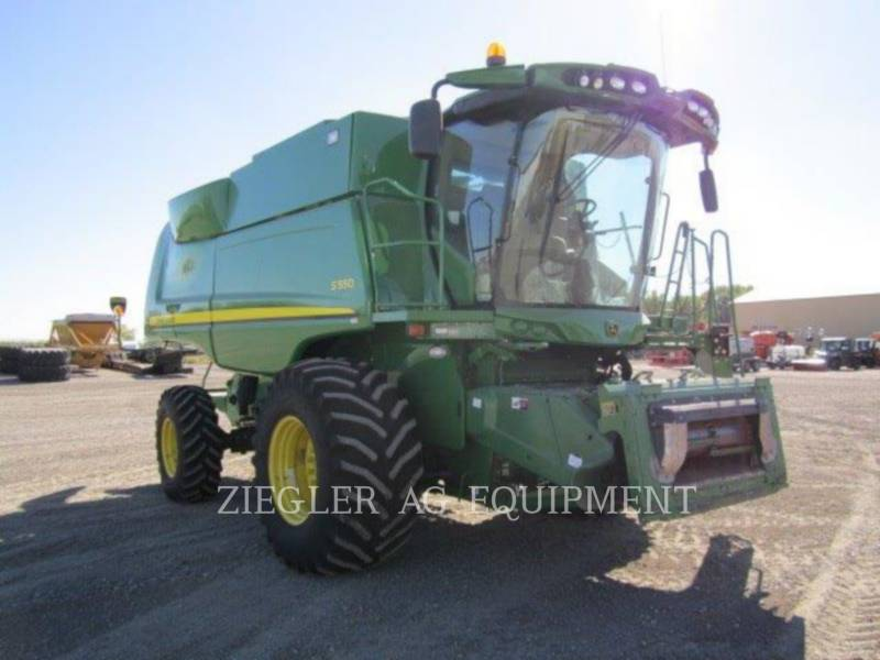 DEERE & CO. コンバイン S550 equipment  photo 12