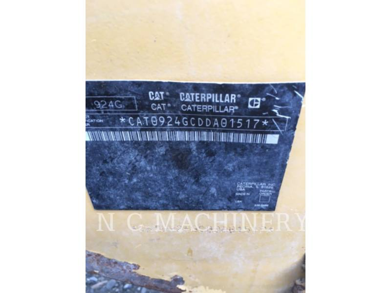 CATERPILLAR WHEEL LOADERS/INTEGRATED TOOLCARRIERS 924G HL equipment  photo 6