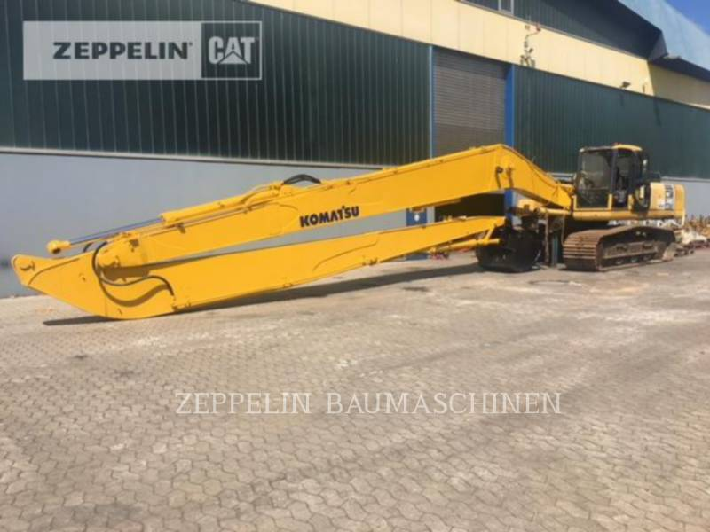 KOMATSU LTD. KETTEN-HYDRAULIKBAGGER PC340NLC equipment  photo 10