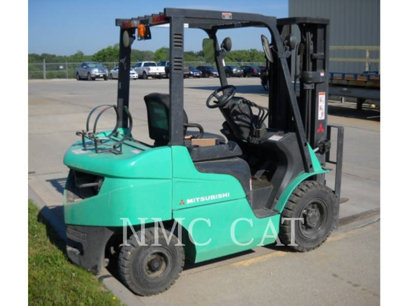 MITSUBISHI FORKLIFTS CARRELLI ELEVATORI A FORCHE FG25N_MT equipment  photo 1