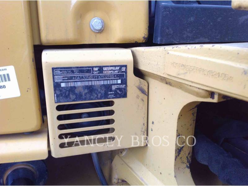 CATERPILLAR EXCAVADORAS DE CADENAS 305.5E CR equipment  photo 7