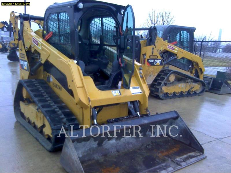CATERPILLAR SKID STEER LOADERS 259D W equipment  photo 1