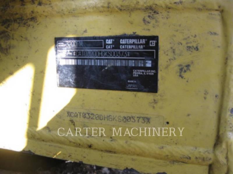 CATERPILLAR TRACK EXCAVATORS 320D FM equipment  photo 5