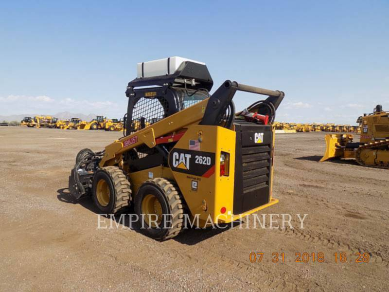 CATERPILLAR PALE COMPATTE SKID STEER 262D equipment  photo 3