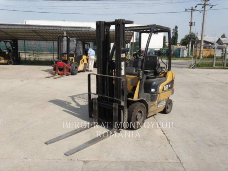 MITSUBISHI CATERPILLAR FORKLIFT GABELSTAPLER GP15N equipment  photo 5