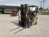 Equipment photo MITSUBISHI CATERPILLAR FORKLIFT GP15N CHARIOTS À FOURCHE 1