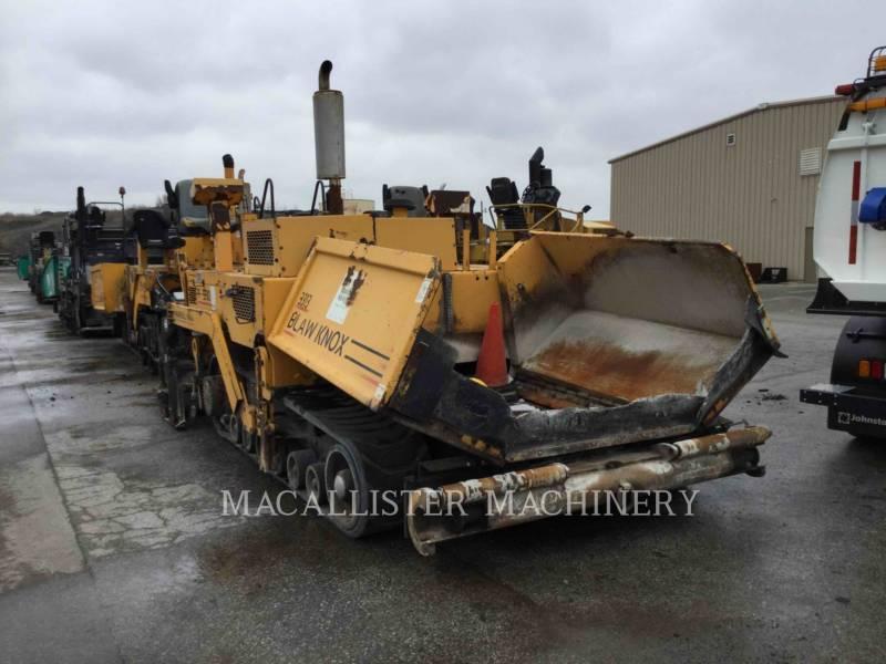 BLAW KNOX / INGERSOLL-RAND ASPHALT PAVERS PF 5510 equipment  photo 4