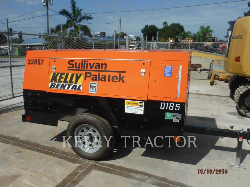 SULLIVAN COMPRESSOR DE AR D185P PK equipment  photo 1