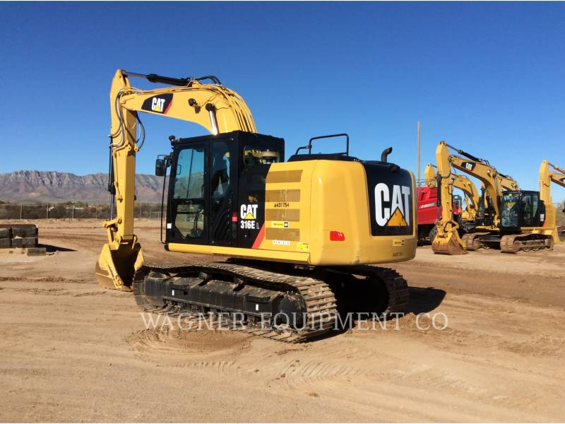 CATERPILLAR TRACK EXCAVATORS 316EL TC equipment  photo 4
