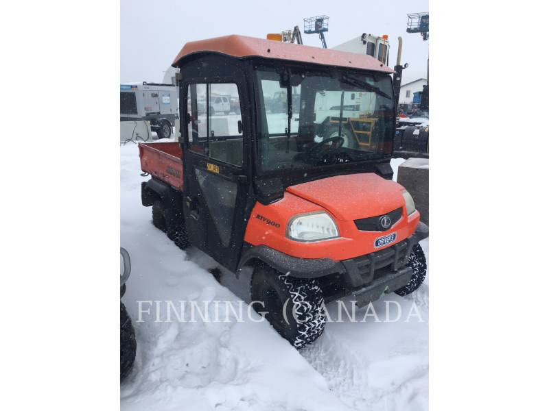 KUBOTA CORPORATION VEHICULES UTILITAIRES RTV9000 equipment  photo 1