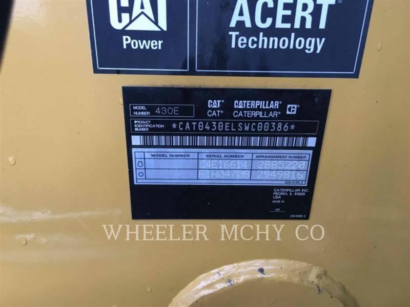 CATERPILLAR RETROESCAVADEIRAS 430E E CF equipment  photo 5