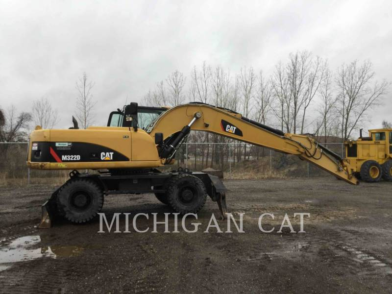 CATERPILLAR PELLES SUR PNEUS M322D equipment  photo 15