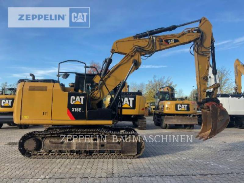 CATERPILLAR ESCAVATORI CINGOLATI 316EL equipment  photo 4