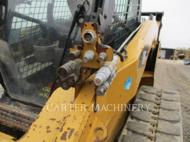 CATERPILLAR SKID STEER LOADERS 299C ACHF equipment  photo 6