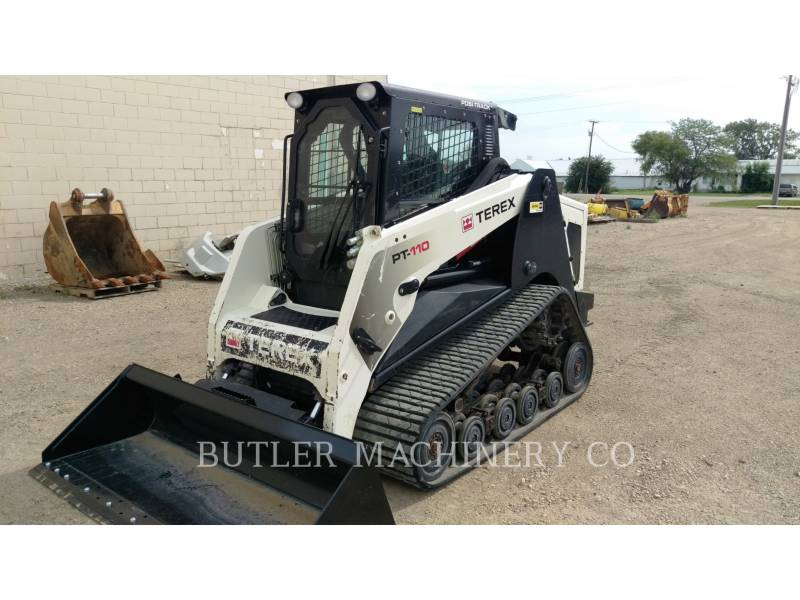 TEREX CORPORATION SKID STEER LOADERS PT110 equipment  photo 1