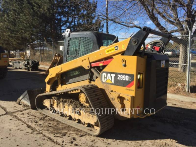 CATERPILLAR CHARGEURS COMPACTS RIGIDES 299D2 equipment  photo 3
