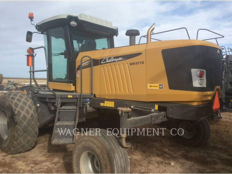 AGCO AG HAY EQUIPMENT WR9770 equipment  photo 1