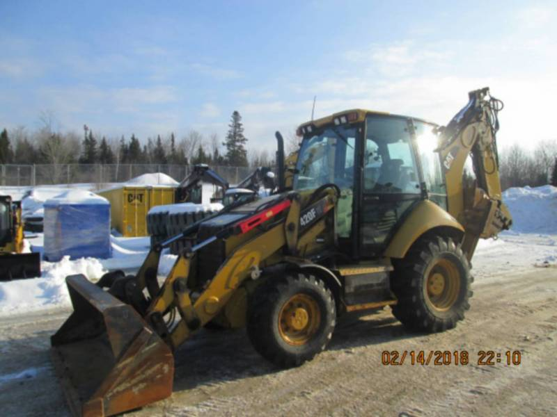 CATERPILLAR CHARGEUSES-PELLETEUSES 420FIT equipment  photo 1