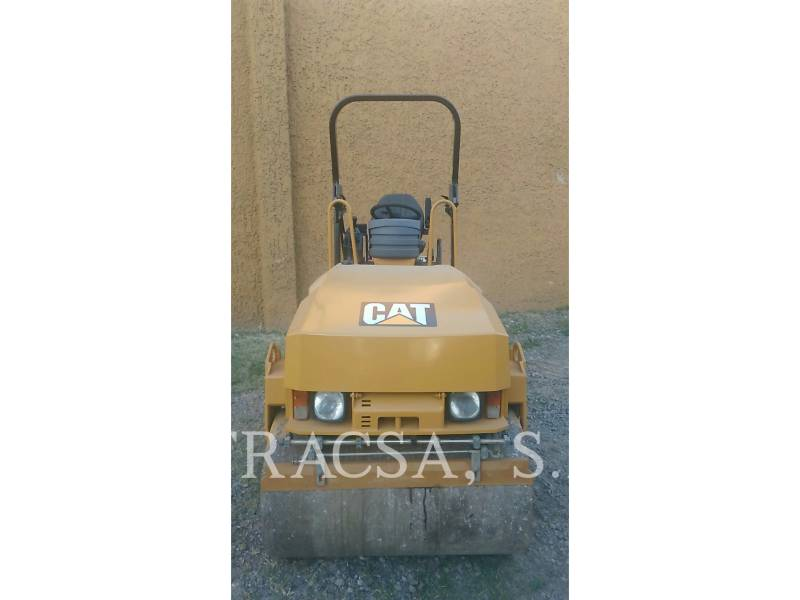 CATERPILLAR ROLO COMPACTADOR DE ASFALTO DUPLO TANDEM CB24 equipment  photo 3