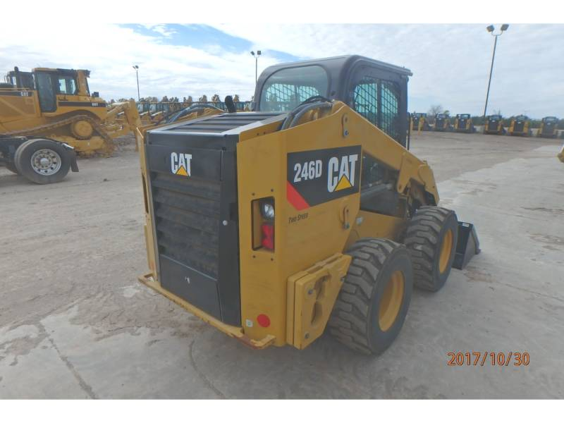 Caterpillar MINIÎNCĂRCĂTOARE RIGIDE MULTIFUNCŢIONALE 246D equipment  photo 4