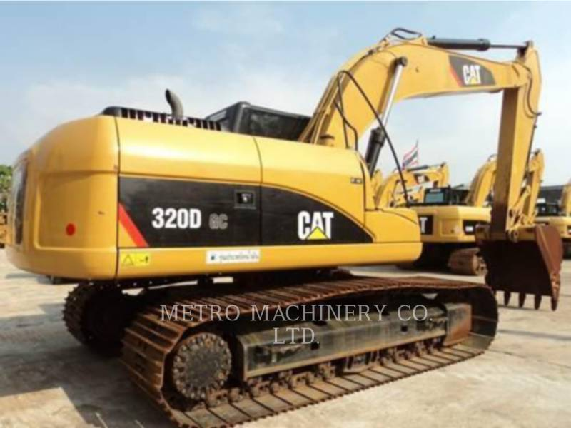 CATERPILLAR KETTEN-HYDRAULIKBAGGER 320DGC equipment  photo 5