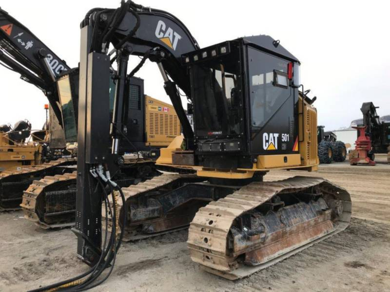 CATERPILLAR FORESTRY - HARVESTER 501HD equipment  photo 1