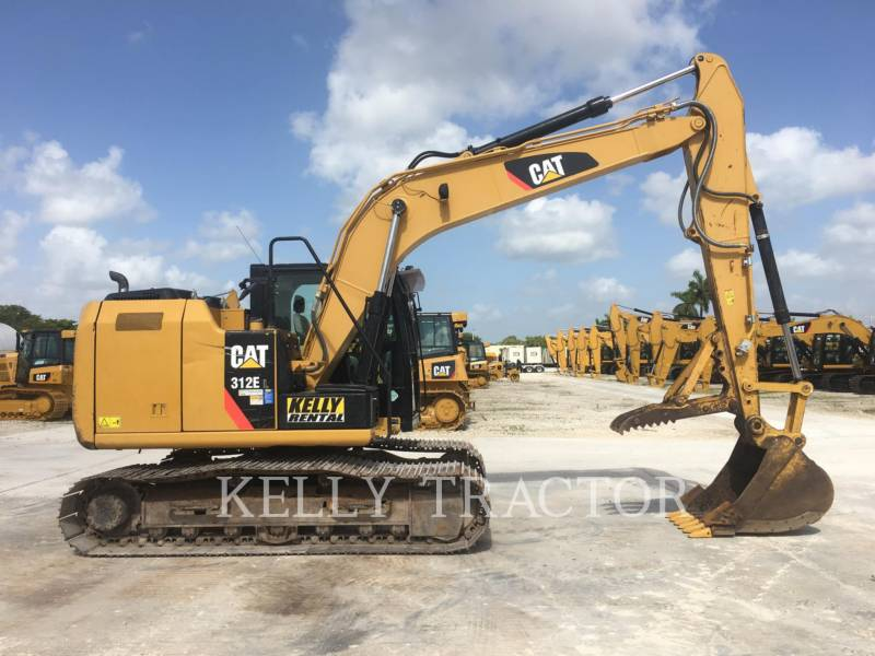 CATERPILLAR EXCAVADORAS DE CADENAS 312EL equipment  photo 2