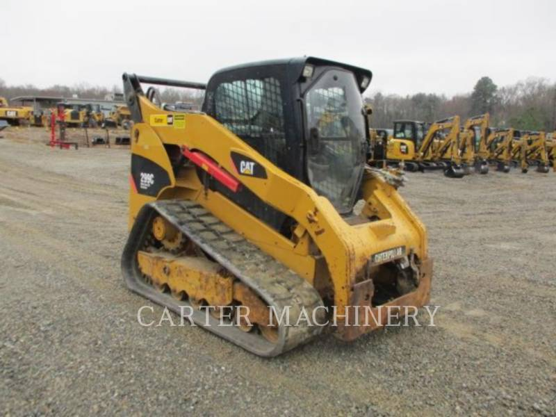 CATERPILLAR SKID STEER LOADERS 299C ACHF equipment  photo 4