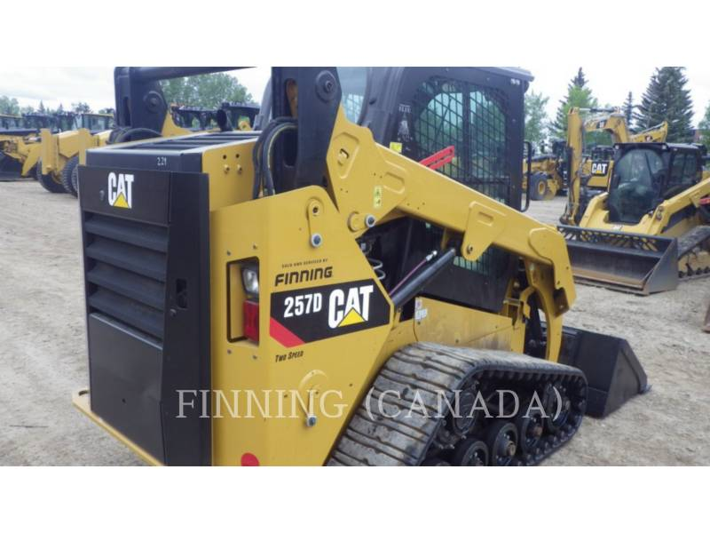 CATERPILLAR CARGADORES MULTITERRENO 257DLRC equipment  photo 5
