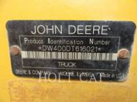 DEERE & CO. DUMPER ARTICOLATI 400D equipment  photo 5