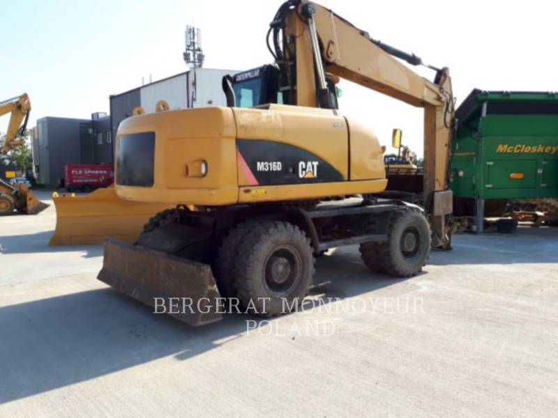 CATERPILLAR WHEEL EXCAVATORS M316D equipment  photo 4