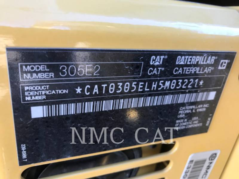 CATERPILLAR PELLES SUR CHAINES 305E2CR equipment  photo 6