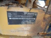 CATERPILLAR KNICKGELENKTE MULDENKIPPER 730C equipment  photo 15