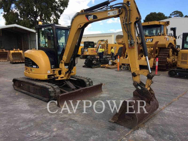 CATERPILLAR TRACK EXCAVATORS 305DCR equipment  photo 2
