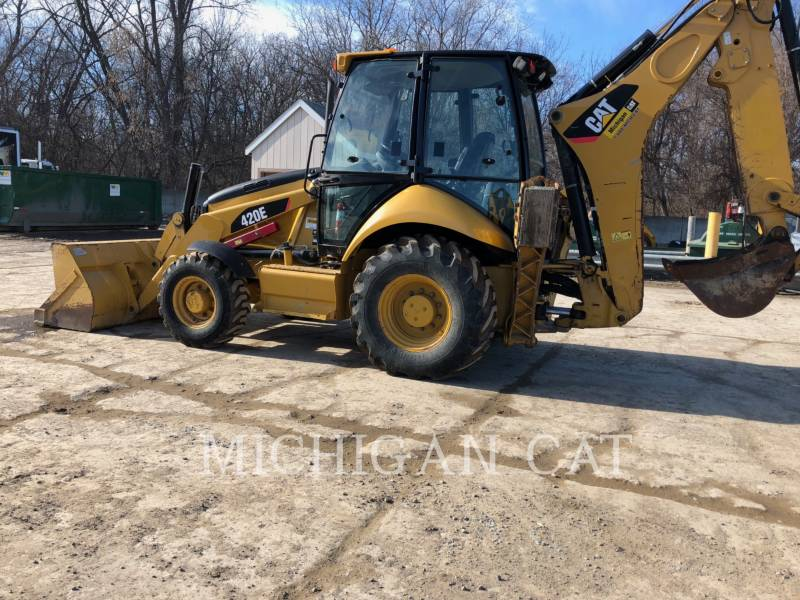 CATERPILLAR BACKHOE LOADERS 420E C equipment  photo 3