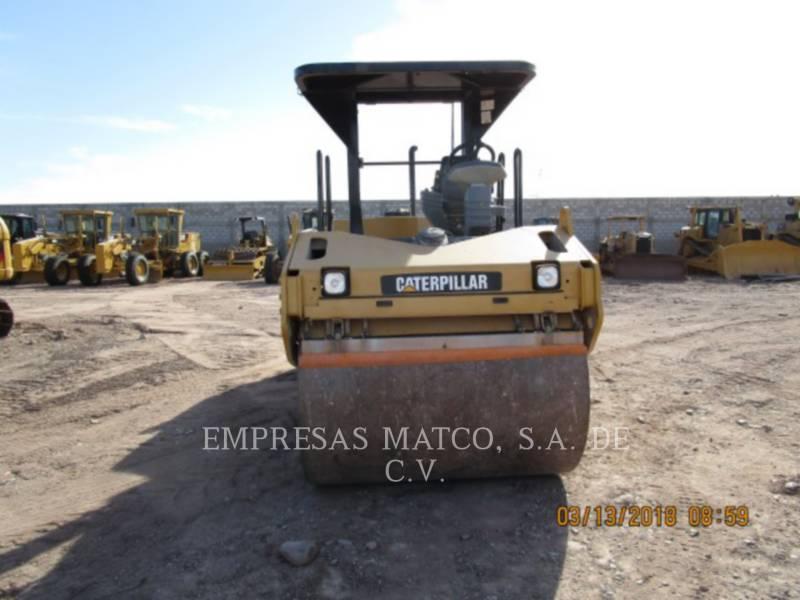 CATERPILLAR TAMBOR DOBLE VIBRATORIO ASFALTO CB-534D equipment  photo 2