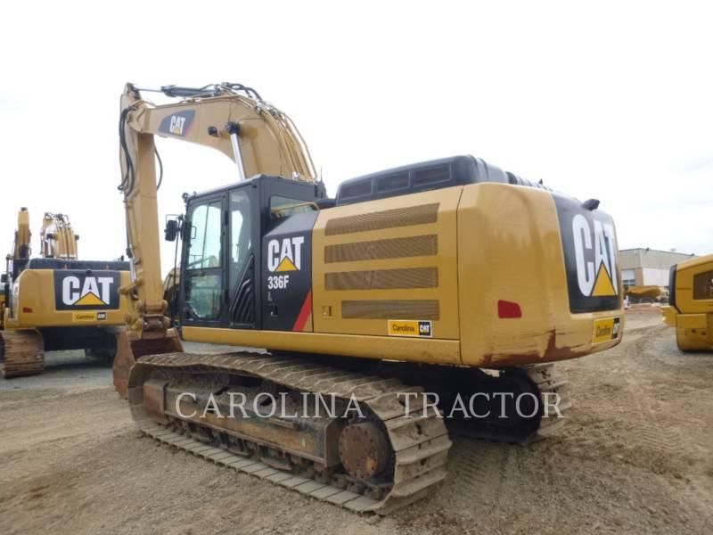 CATERPILLAR TRACK EXCAVATORS 336F QC equipment  photo 2