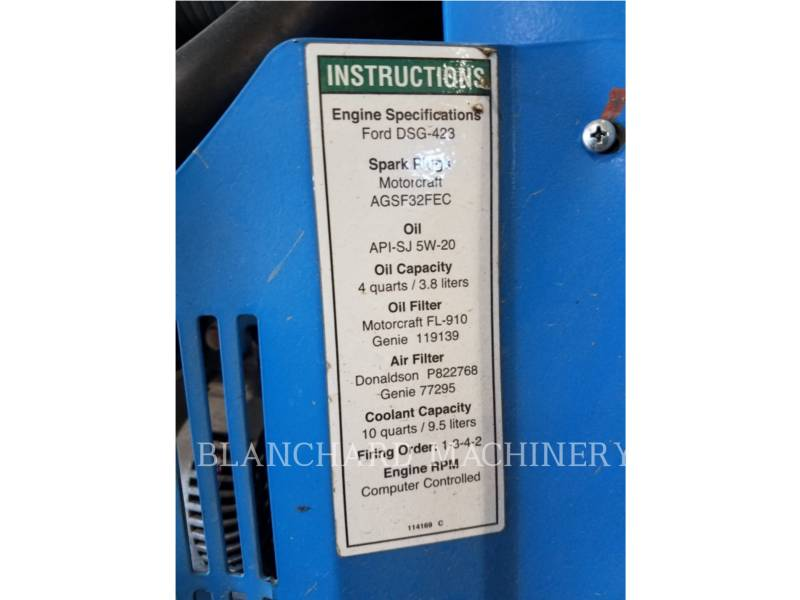 GENIE INDUSTRIES LIFT - BOOM S40 equipment  photo 6