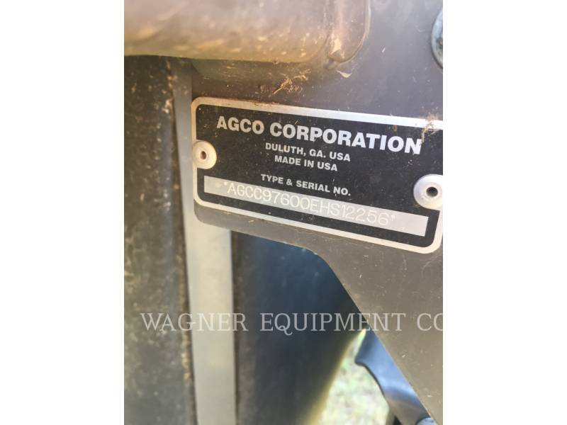 AGCO MATERIELS AGRICOLES POUR LE FOIN WR9760 equipment  photo 5