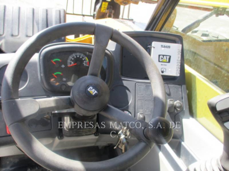 CATERPILLAR TELEHANDLER TL642D equipment  photo 5