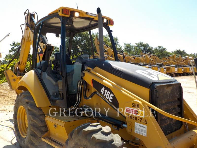 CATERPILLAR RETROEXCAVADORAS CARGADORAS 416E equipment  photo 4