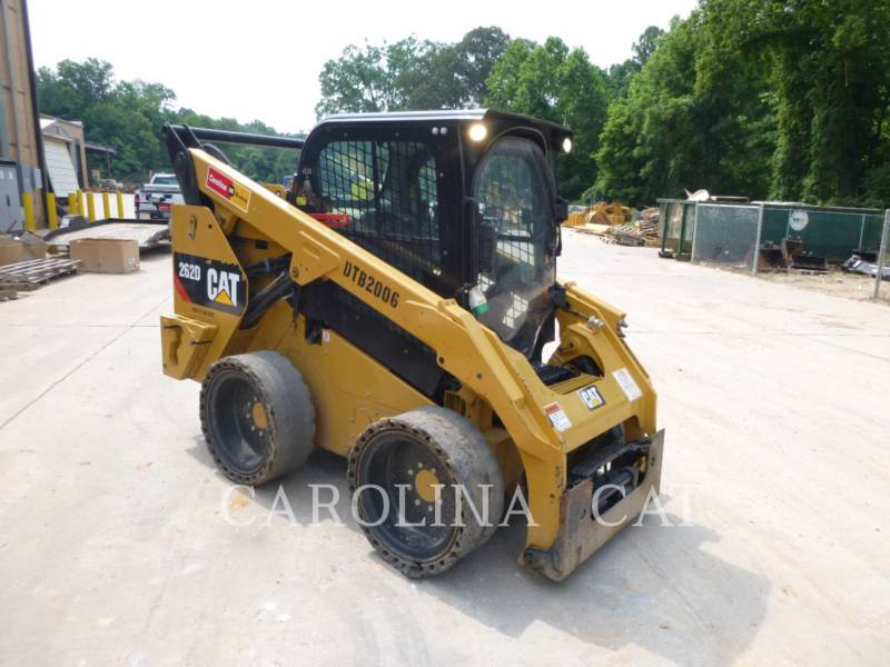 CATERPILLAR SKID STEER LOADERS 262D CB HF equipment  photo 5