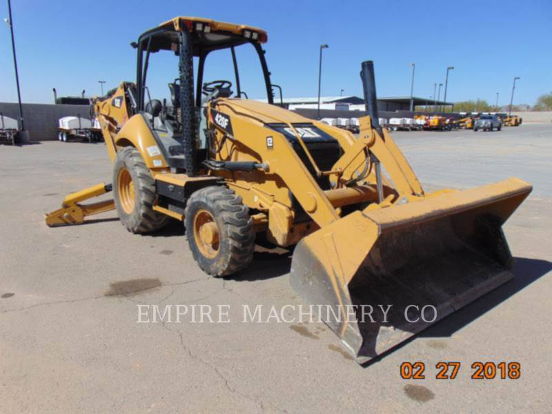 CATERPILLAR BACKHOE LOADERS 420F 4EOM equipment  photo 1