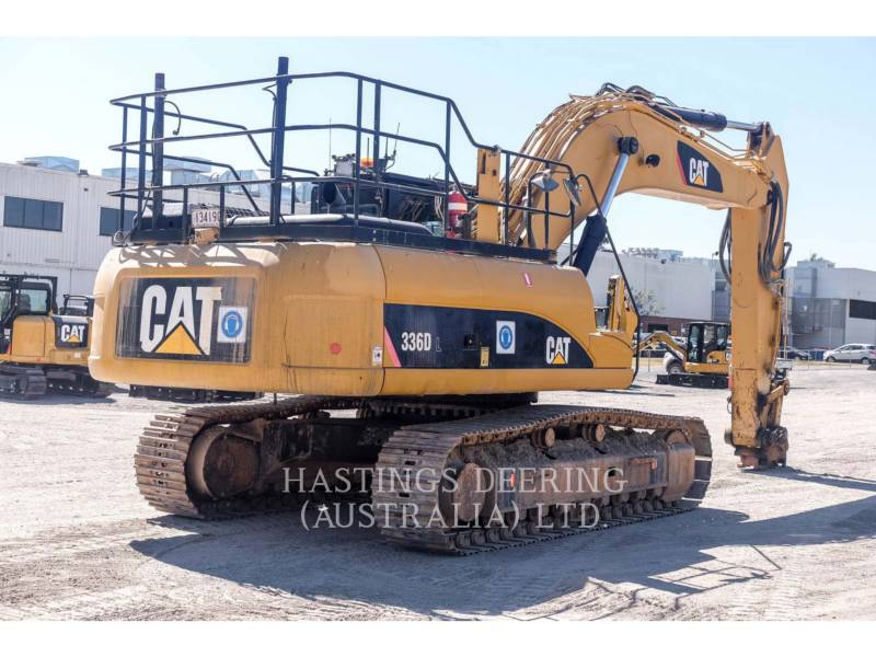 CATERPILLAR EXCAVADORAS DE CADENAS 336DL HS equipment  photo 8