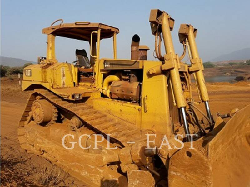 CATERPILLAR TRACK TYPE TRACTORS D8RLRC equipment  photo 1