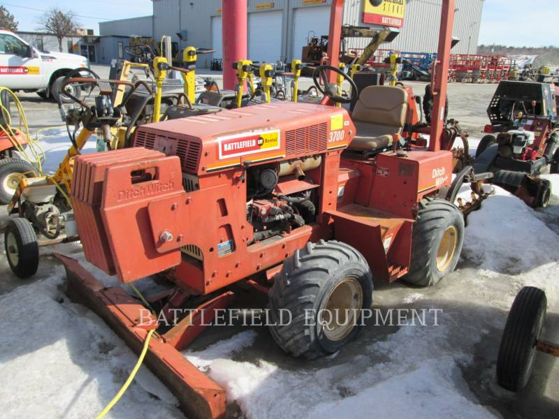 DITCH WITCH (CHARLES MACHINE WORKS) TRENCHERS 3700 equipment  photo 1