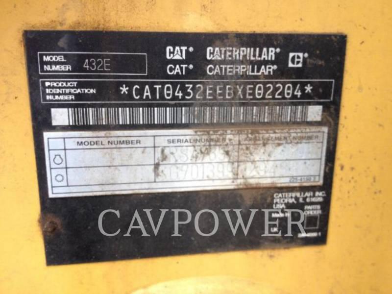 CATERPILLAR バックホーローダ 432E equipment  photo 3